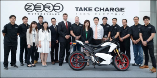 Zero Motorcycles Hong Kong Team