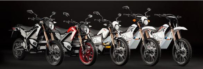 2012 Zero Motorcycles Product Line