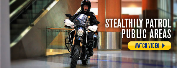 Stealthily Patrol Public Areas - Watch Video